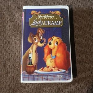 Lady and the Tramp VHS